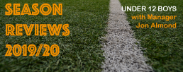 U12 boys season review